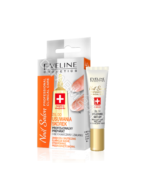 EVELINE COSM Eveline clinical care żel do usuwania skórek 10 ml