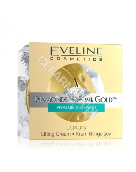 EVELINE COSM Eveline diamonds&24k gold Luxury krem liftingujący 50 ml (kula)