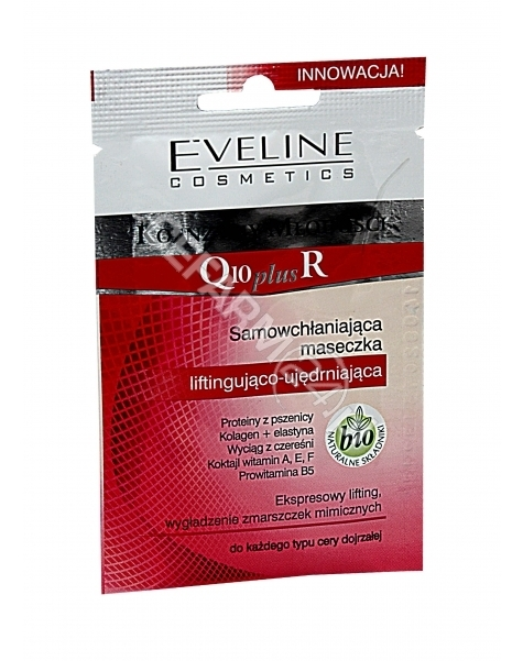 EVELINE LABO Eveline koenzymy młodości q10 plus r - maseczka liftingująco-ujędrniająca 12 ml