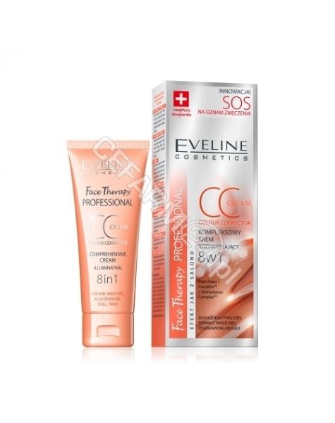 EVELINE COSM Eveline kompleksowy krem rozświetlający CC 8w1 SOS na oznaki zmęczenia 30 ml