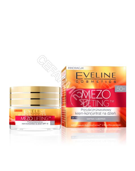EVELINE COSM Eveline Mezo lifting 50+ przeciwzmarszczkowy krem-koncentrat na dzień 50 ml