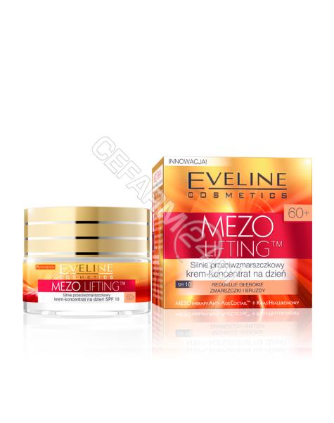 EVELINE COSM Eveline Mezo lifting 60+ silnie przeciwzmarszczkowy krem-koncentrat na dzień 50 ml