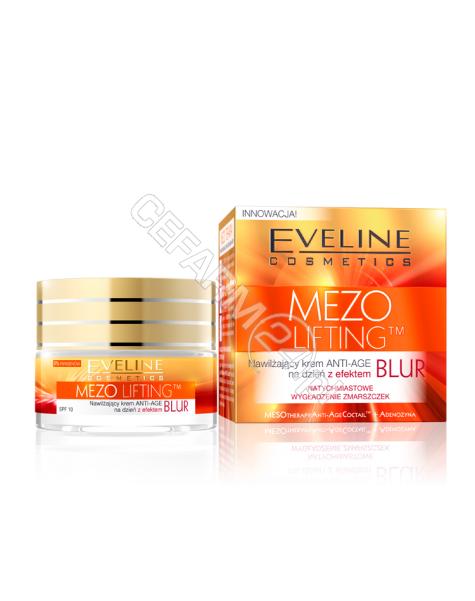 EVELINE COSM Eveline Mezo Lifting nawilżający krem anti-age na dzień z efektem BLUR 50 ml