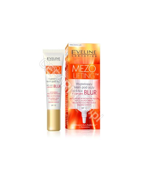 EVELINE COSM Eveline Mezo Lifting wygładzający krem pod oczy z efektem BLUR 15 ml