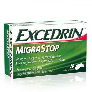 NOVARTIS Excedrin Migra Stop, 20 tabletek
