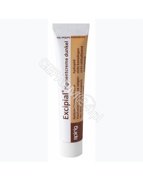SPIRIG Excipial pigmentcreme - krem o właściwościach hydrofilowych i kryjących ciemny 20 ml