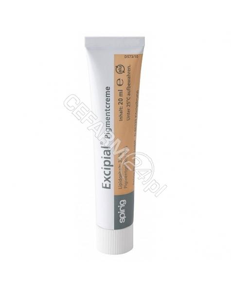 SPIRIG Excipial pigmentcreme - krem o właściwościach hydrofilowych i kryjących jasny 20 ml