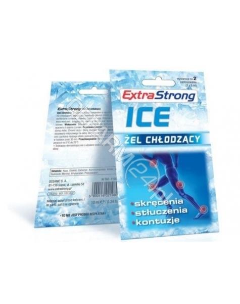 OCEANIC Extra strong ice żel chłodzący 2 saszetki x 5 ml