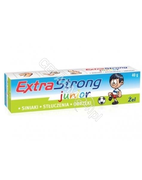 OCEANIC Extra strong junior żel 40 ml (siniaki, stłuczenia, ukąszenia)