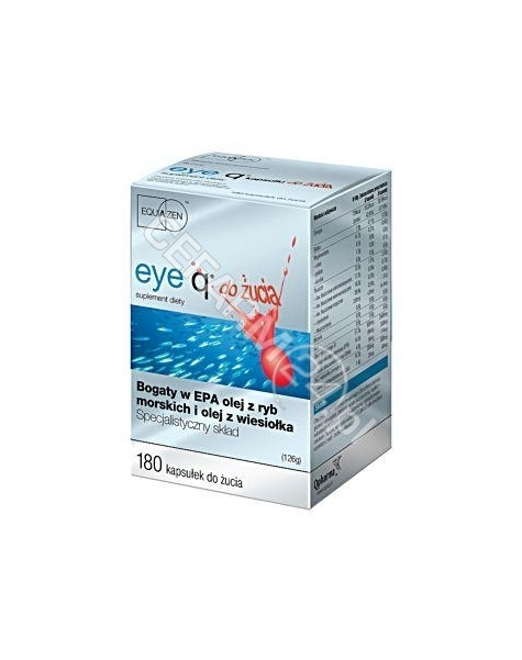 QPHARMA Eye Q x 180 + 60 kaps do żucia