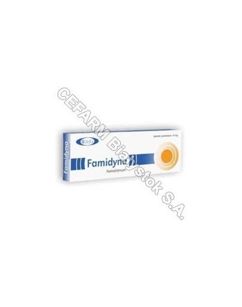 JELFA Famidyna 10 mg x 10 tabl powlekanych