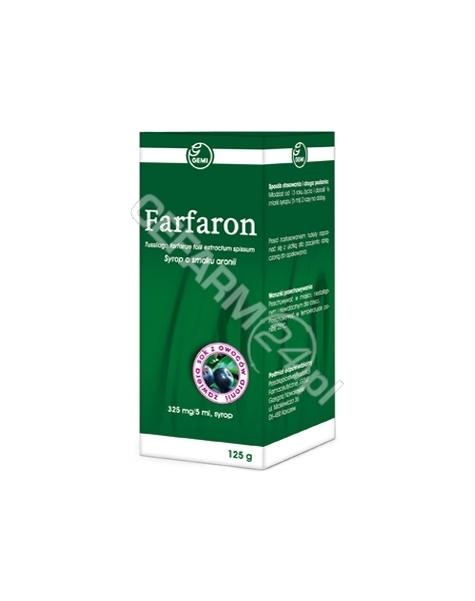 GEMI Farfaron syrop 125 g