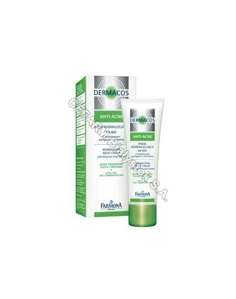 FARMONA Farmona dermacos anti acne krem normalizujący na noc 50 ml