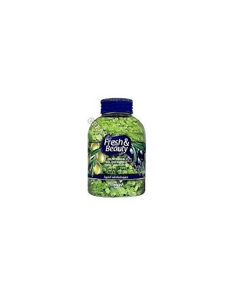 FARMONA Farmona fresh&beauty oliwkowa sól do kąpieli 600 g