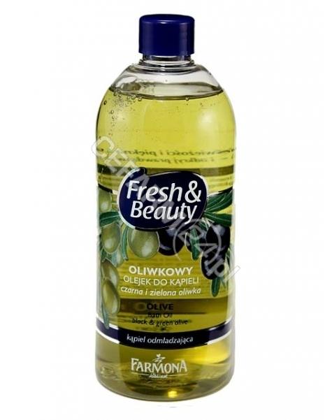 FARMONA Farmona fresh&beauty oliwkowy olejek do kąpieli 500 ml