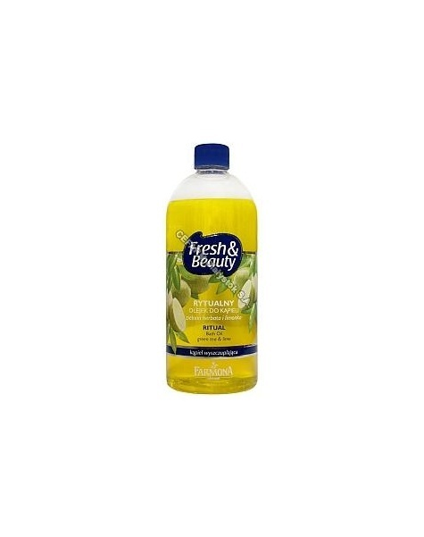 FARMONA Farmona fresh&beauty rytualny olejek do kąpieli zielona herbata i limonka 500 ml