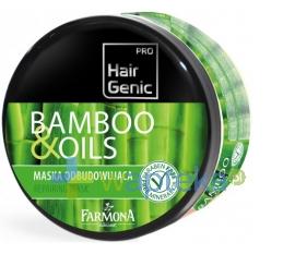 FARMONA KRAKÓW FARMONA HAIR GENIC bamboo & oils Maska odbudowująca 300 ml