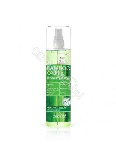 FARMONA Farmona Hair Genic Bamboo&Oils odżywka ochronna w sprayu 200 ml