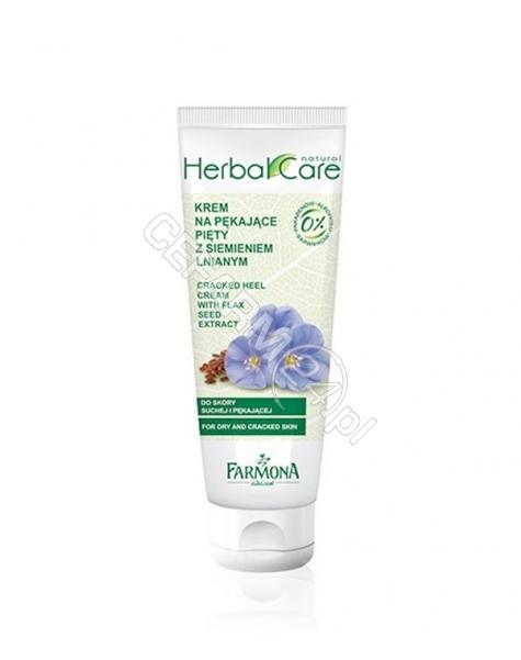 FARMONA Farmona Herbal Care krem do suchych i pękających pięt siemię lniane 100 ml