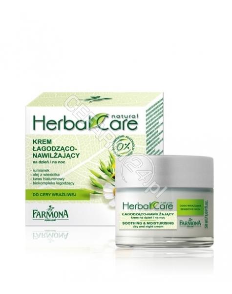 FARMONA Farmona herbal care krem łagodząco-nawilżający na dzień i noc do cery wrażliwej 50 ml