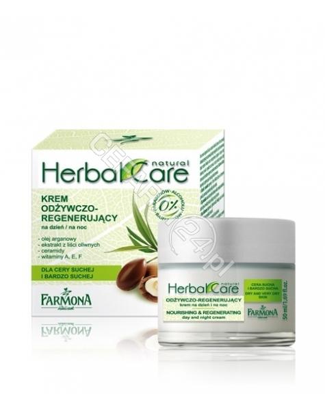 FARMONA Farmona herbal care krem odżywczo-regenerujący na dzień i noc do cery suchej i bardzo suchej 50 ml