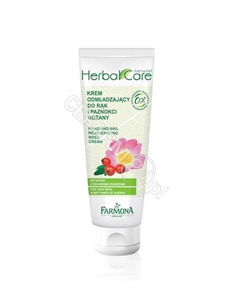 FARMONA Farmona Herbal Care różany krem odmładzający do rąk i paznokci 100 ml