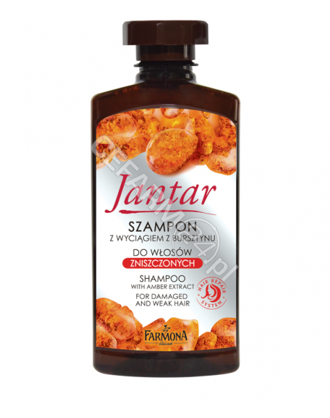 FARMONA Farmona Jantar szampon do włosów zniszczonych 330 ml