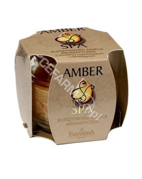 FARMONA Farmona magic spa - bursztynowa świeca aromatyczna 120 g