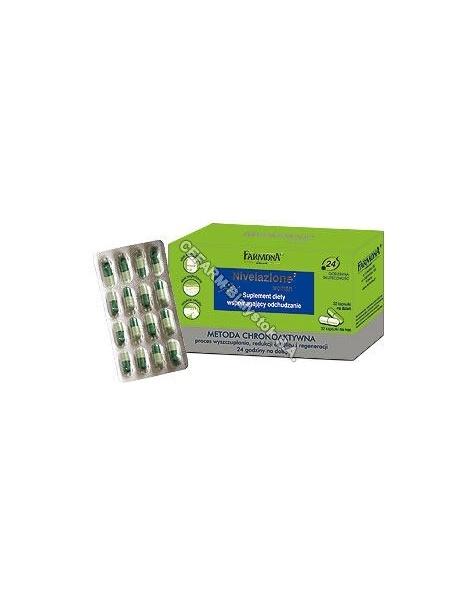 FARMONA Farmona nivelazione woman - kapsułki wspomagające odchudzanie x 64 kaps (data ważności 31.05.2016)