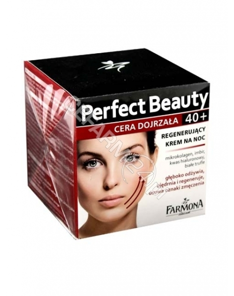 FARMONA Farmona perfect beauty 40+ krem regenerujący na noc 50 ml