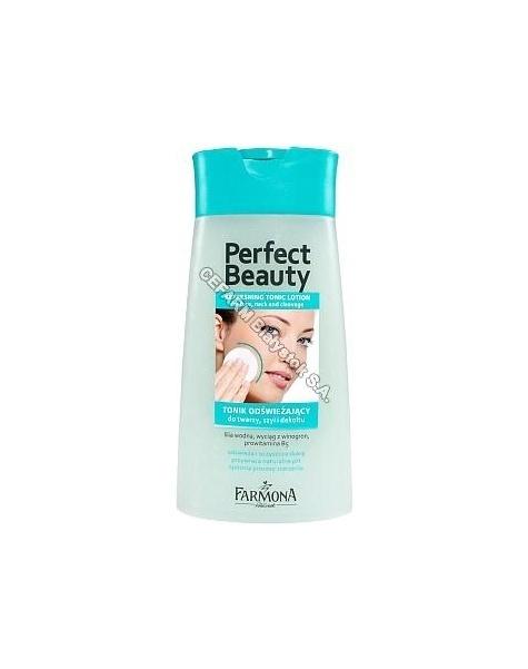 FARMONA Farmona perfect beauty demakijaż - tonik odświeżający do twarzy, szyi i dekoltu 200 ml
