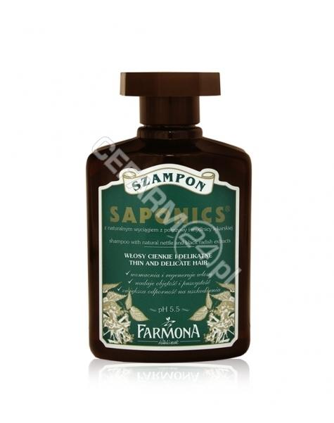 FARMONA Farmona Saponics szampon do włosów cienkich i delikatnych 310 ml