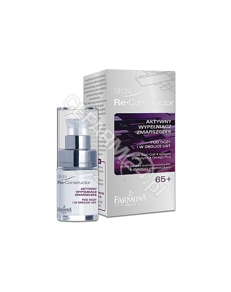 FARMONA Farmona skin re-constructor 65+ aktywny wypełniacz zmarszczek pod oczy i w okolice ust 15 ml