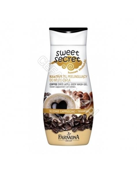 FARMONA Farmona sweet secret - kawowy żel peelingujący do mycia ciała 225 ml