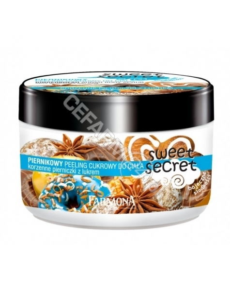 FARMONA Farmona sweet secret - piernikowy peeling cukrowy do ciała 225 ml