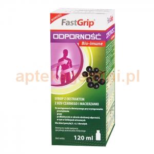 VALEANT FastGrip, Odporność Bio-imune, syrop, powyżej 3 lat, 120ml