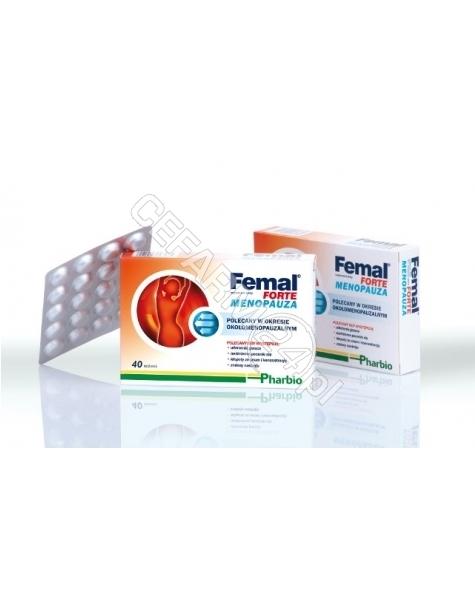 NATUMIN PHAR Femal forte menopauza x 40 tabl + 20 tabl GRATIS !!!