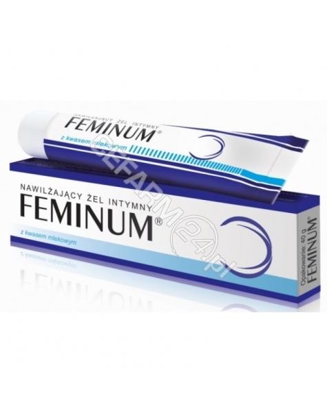 MIRALEX Feminum - intymny żel nawilżający dla kobiet 60 g