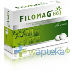FILOFARM Filomag B6, 50 tabletek