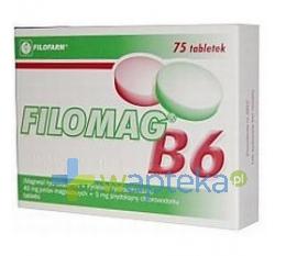 FILOFARM F.S.P. Filomag B6 75 tabletek