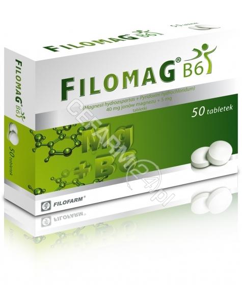 FILOFARM Filomag b6 x 50 tabl