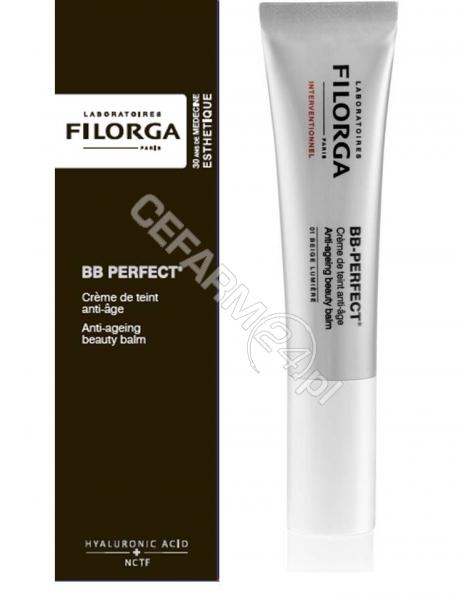 FILORGA Filorga BB PERFECT barwiony krem przeciwzmarszczkowy (01 jasny beż) 30 ml (data ważności <span class=
