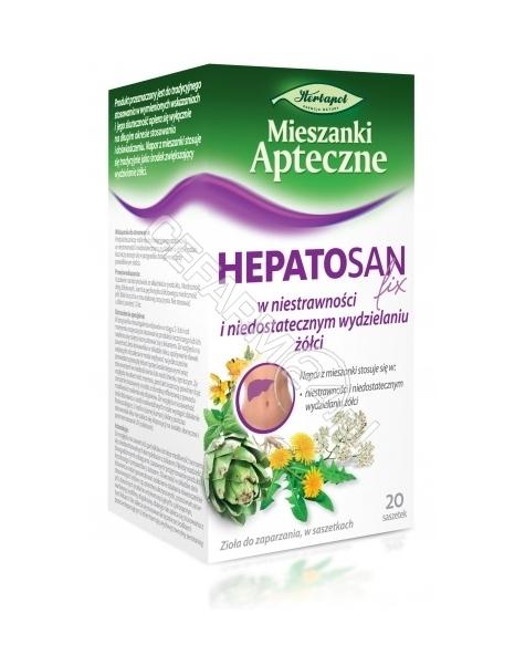 HERBAPOL LUB Fix Hepatosan 2 g x 20 sasz