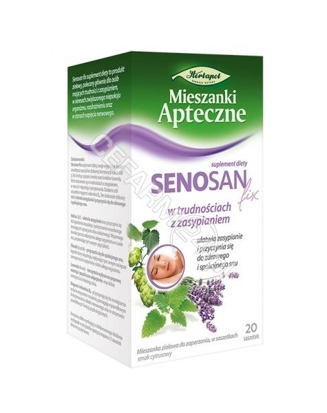 HERBAPOL LUB Fix senosan 1,7 g x 20 sasz