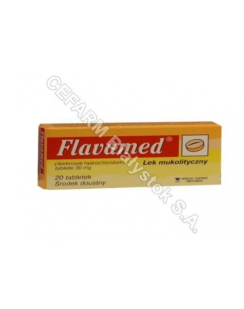 BERLIN-CHEMIE Flavamed 30 mg x 20 tabl