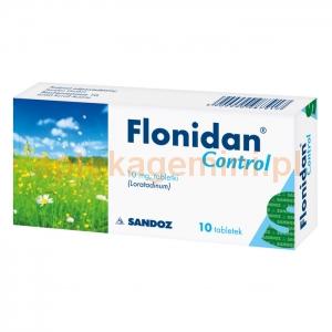 SANDOZ Flonidan Control 10mg, 10 tabletek