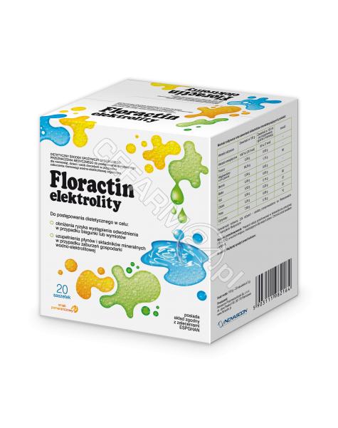 NOVASCON Floractin elektrolity x 20 sasz