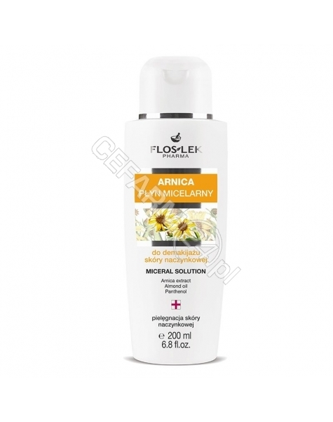 FLOS-LEK Flos-lek arnica płyn micelarny do demakijażu 200 ml