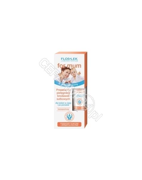 FLOS-LEK Flos-lek for mum - preparat do pielęgnacji brodawek sutkowych 15 ml
