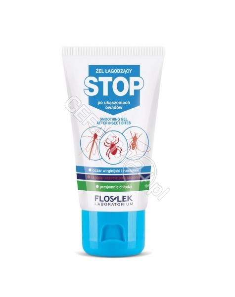 FLOS-LEK Flos-lek stop - żel łagodzący po ukąszeniach owadów 50 ml (data ważności <span class=